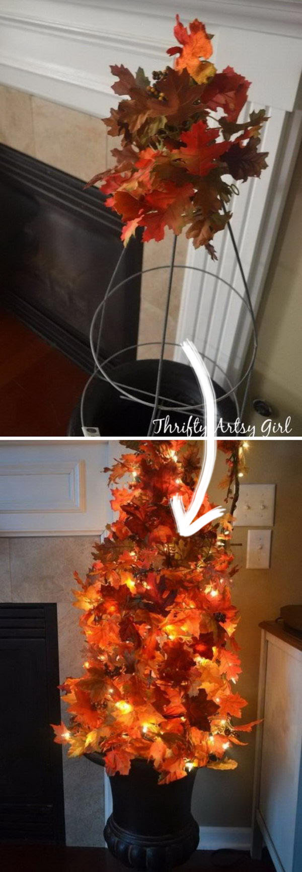 30 Awesome Diy Ideas And Tutorials Using Fall Leaves 2018
