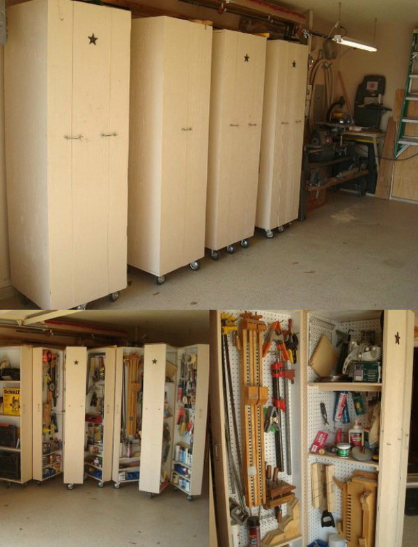 Rolling Cabinets for Tool Storage.