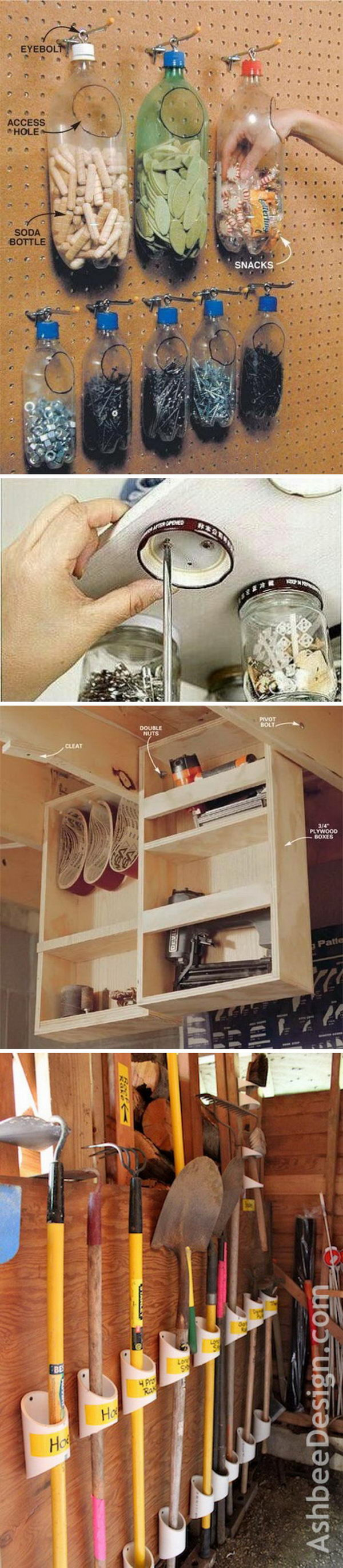 Clever Garage Organization and Storage Ideas.