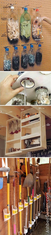 Clever Garage Organization and Storage Ideas.
