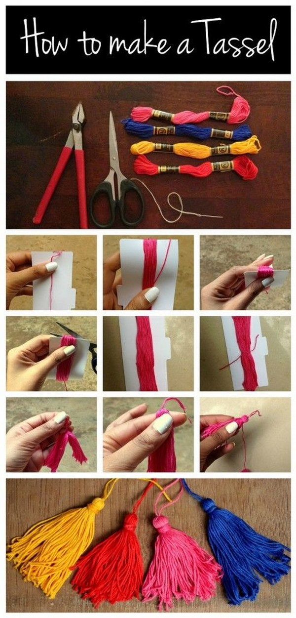 DIY Tassels: A Great Way To Personalize A Graduation Gift Or Any Other Gifts.