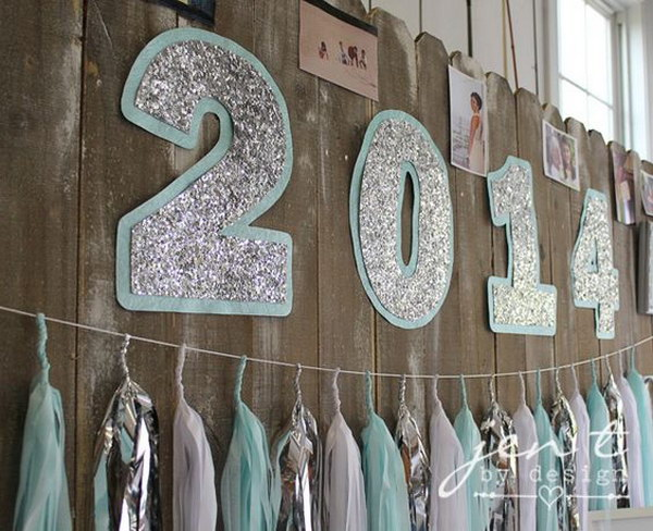 Showcase The Graduation Year In a Stylish Way.