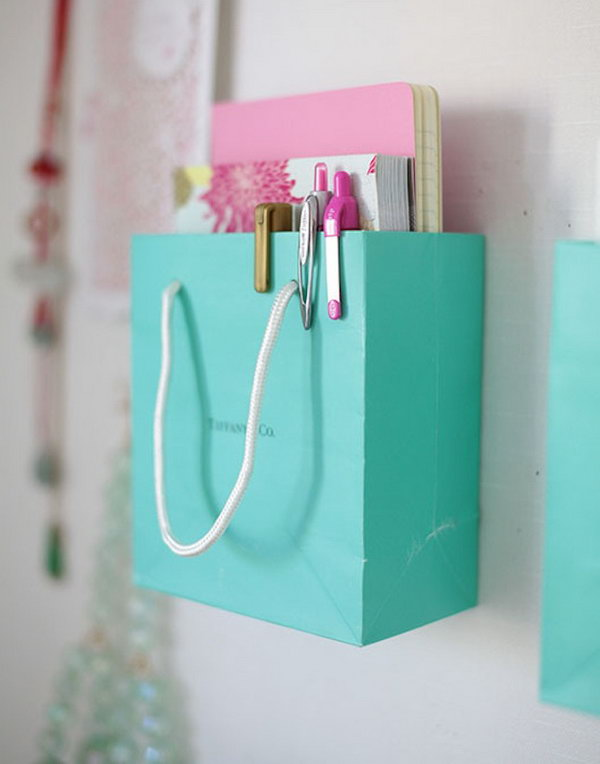 Shopping Bag Organization.