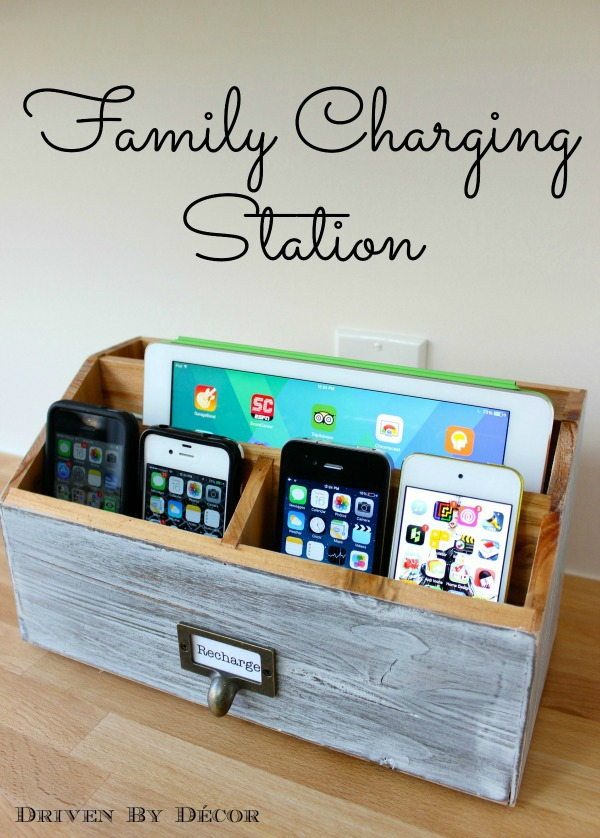 DIY Electronic Charging Station.