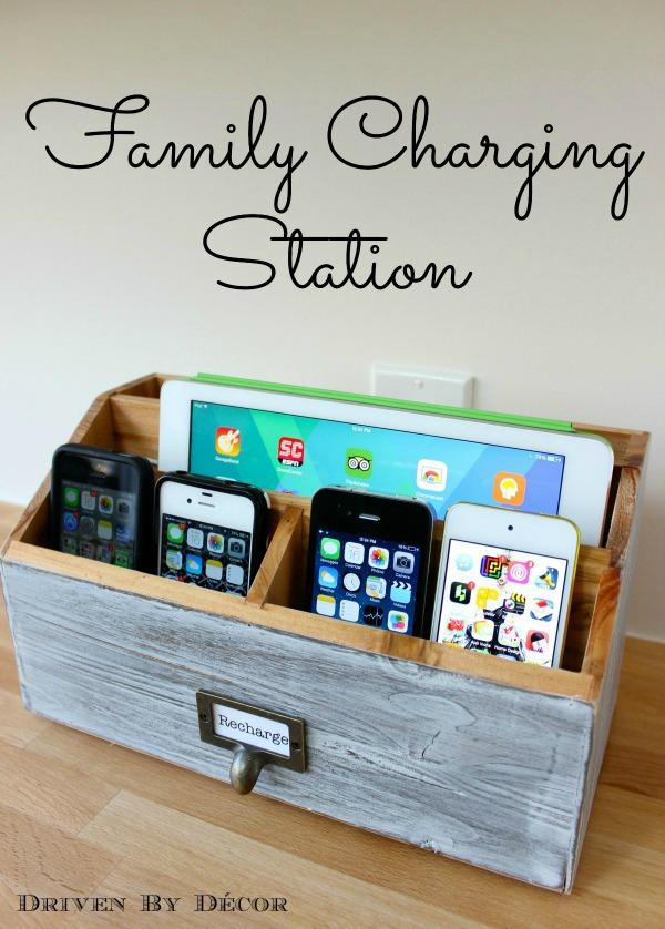 DIY Electronic Charging Station.