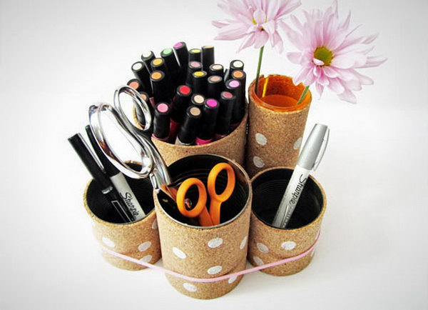 Cork-Covered Cans.