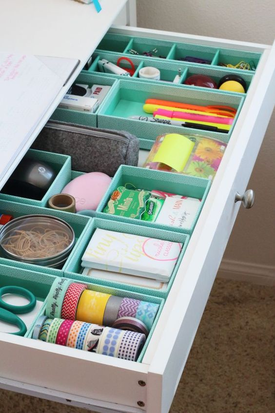 Home Office Drawer Organizers.