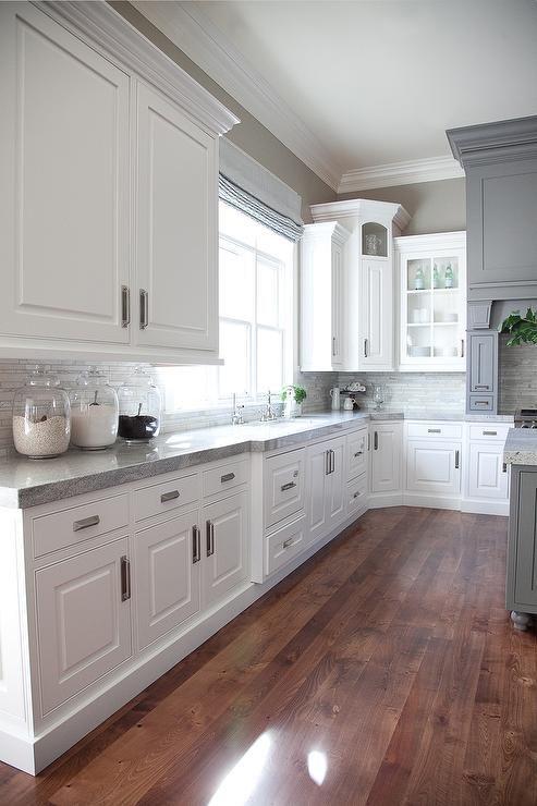 White Corner Cabinet.