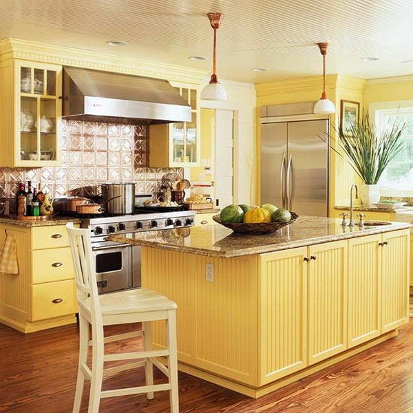 80+ Amazing Kitchen Cabinet Paint Color Ideas 2017