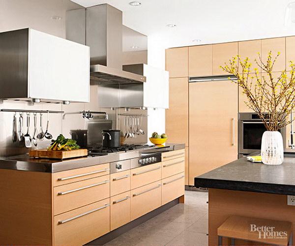 Oak Kitchen Cabinets.