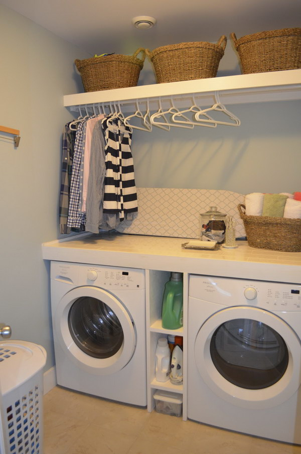 Functional Small Laundry Room.