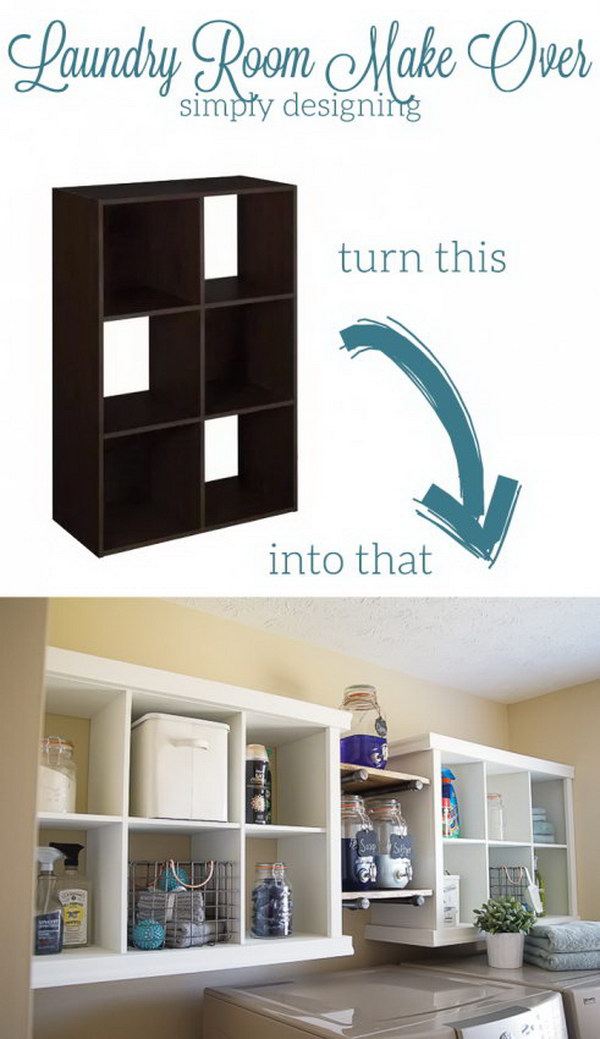 From Laminate Closetmaid Storage Cubes To Laundry Wall Storage Units.