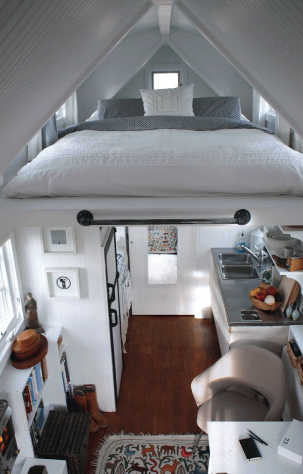 Ceiling Loft Bed