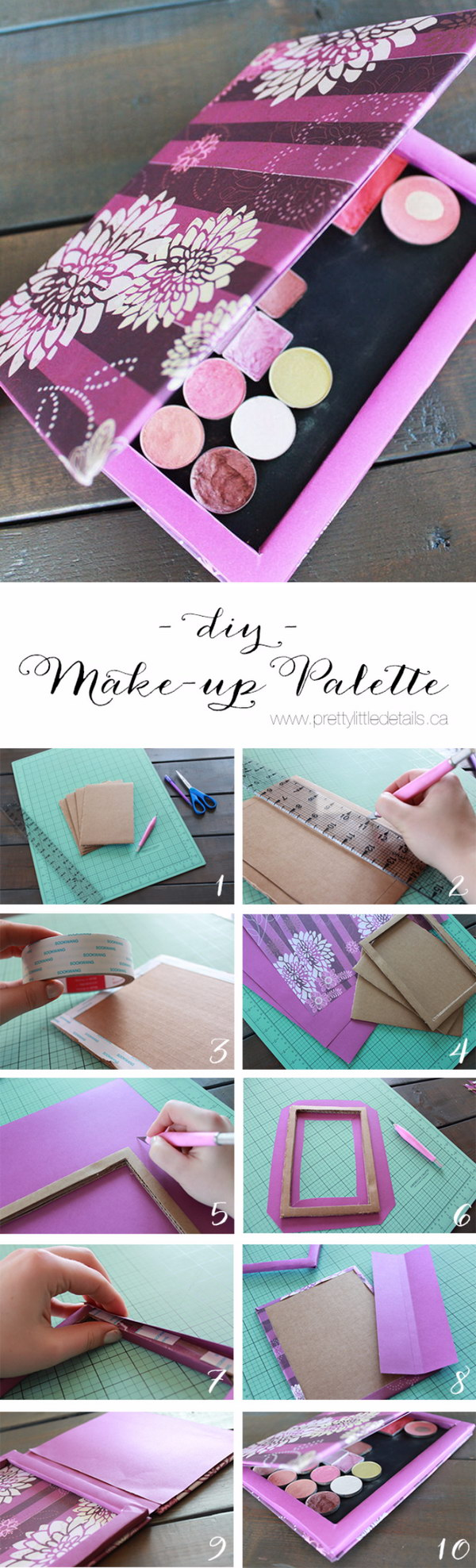 DIY Makeup Palette.
