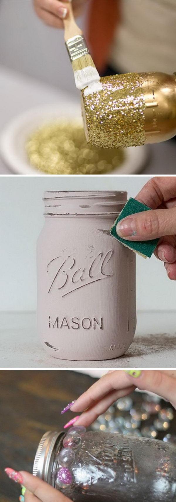 Awesome DIY Projects Using Mason Jars.