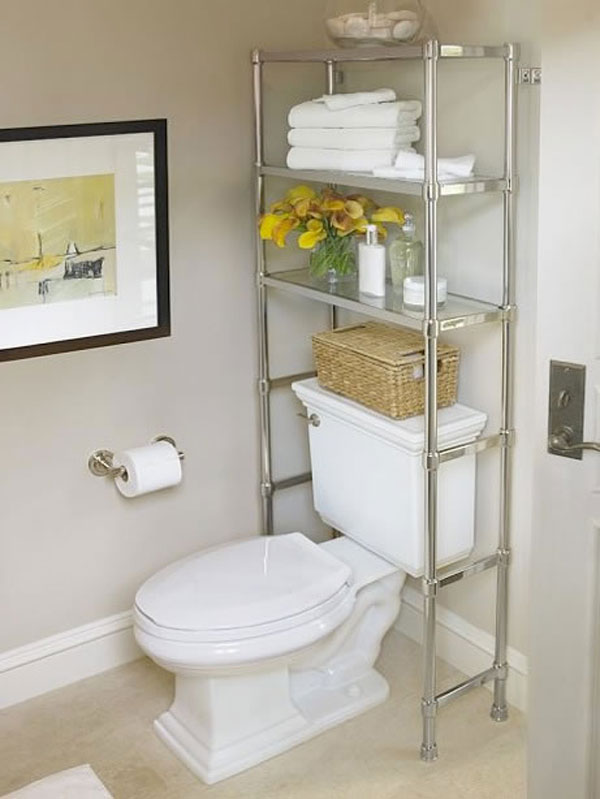 40+ Practical Over The Toilet Storage Ideas 2017