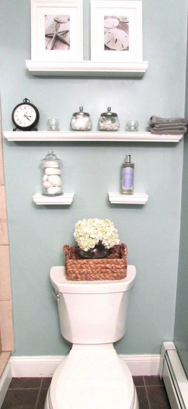 Decorative Floating Wall Shelves.