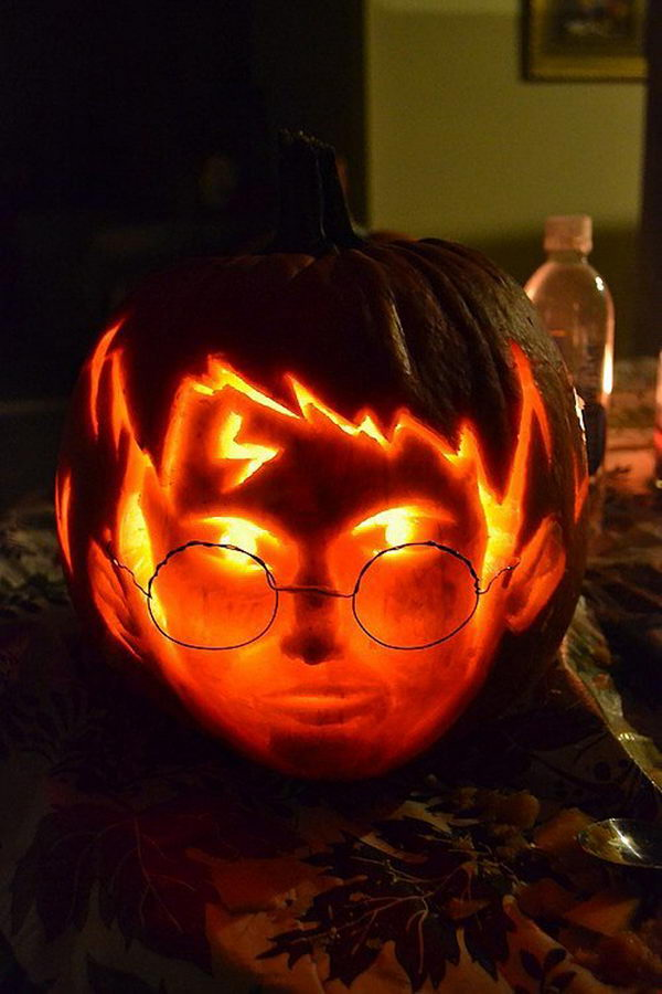 Harry Potter Pumpkin Carving.