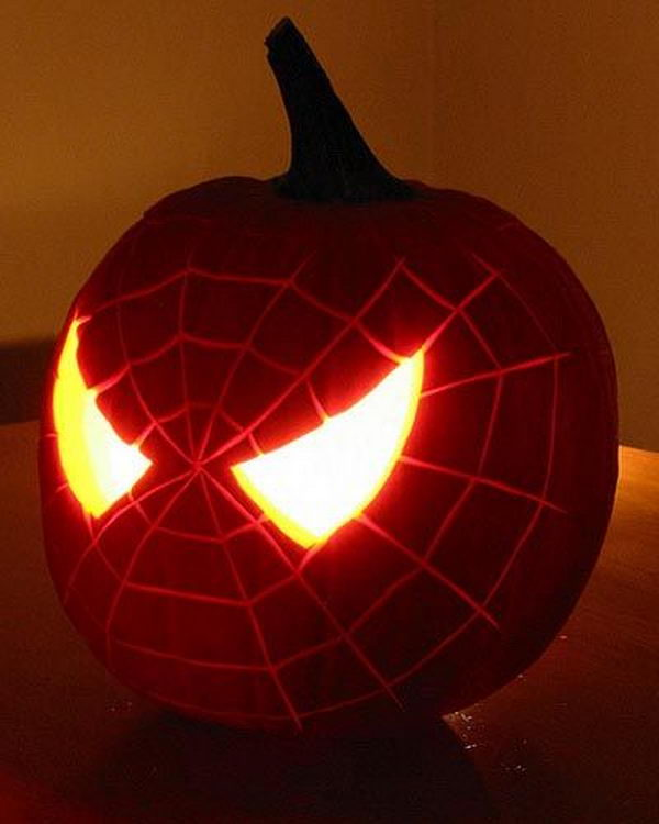 Superhero Pumpkin Carving.