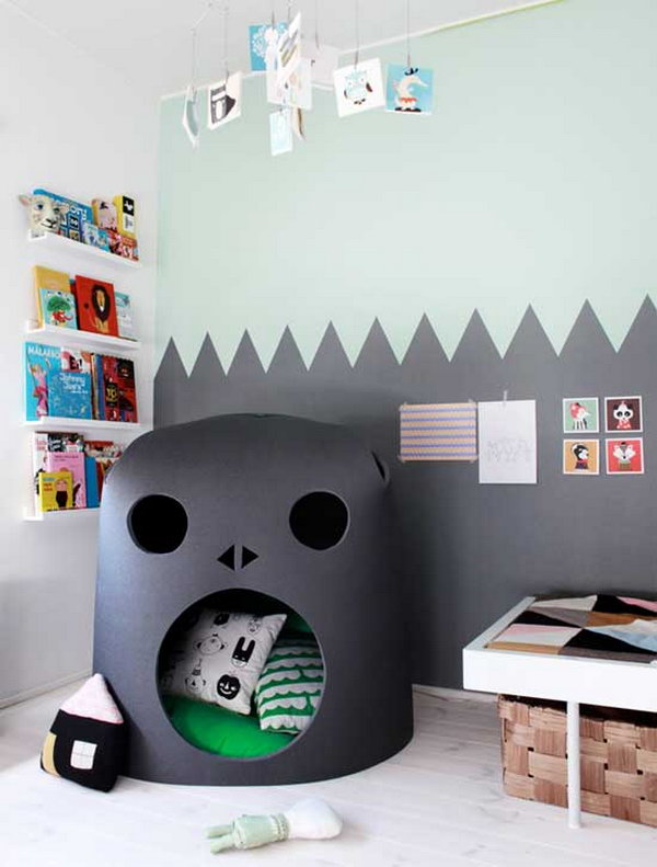 Not Only A Reading Nook, But Also A Cozy Place For Napping
