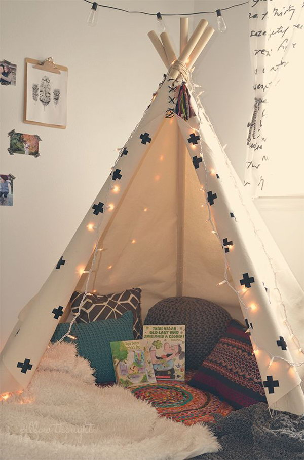 Tent Kids Reading Corner