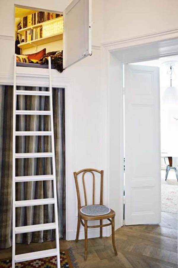 DIY Loft Secret Rooms