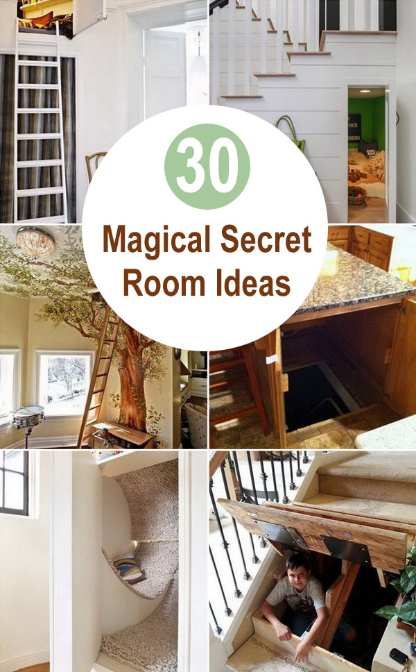 30 Magical Secret Room Ideas.