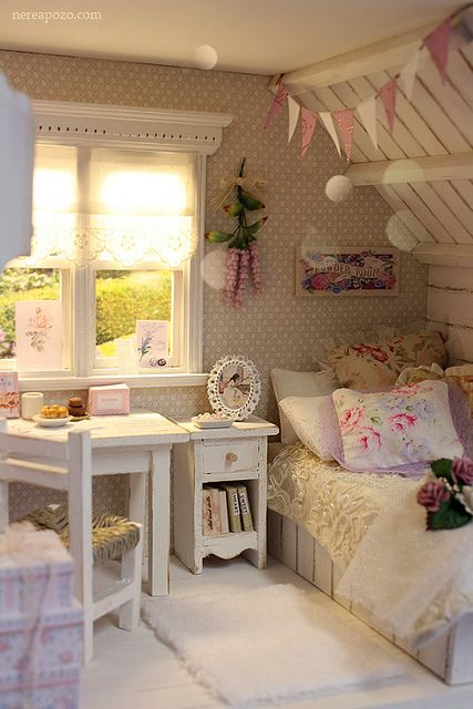 Cute And Sweet Bedroom For Girls.