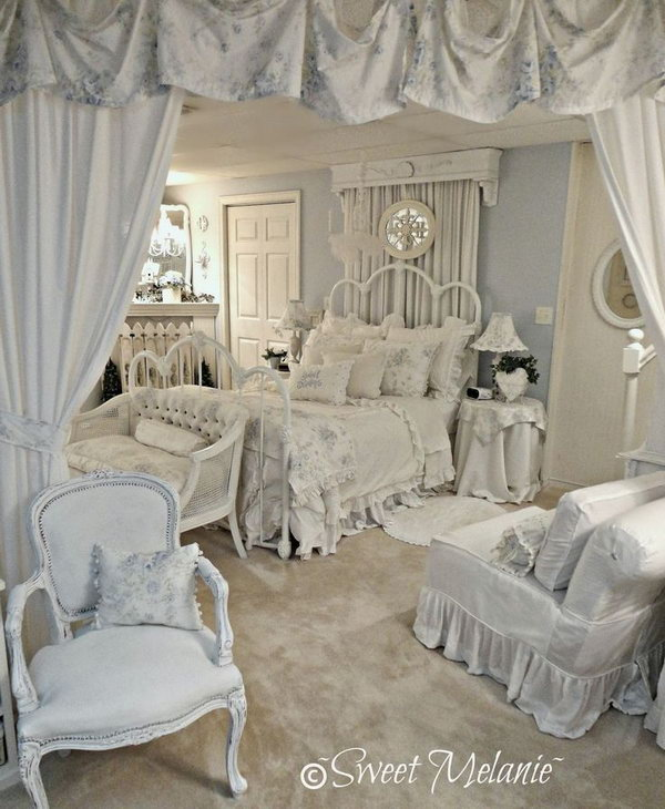Romantic Bedroom Furnishing.