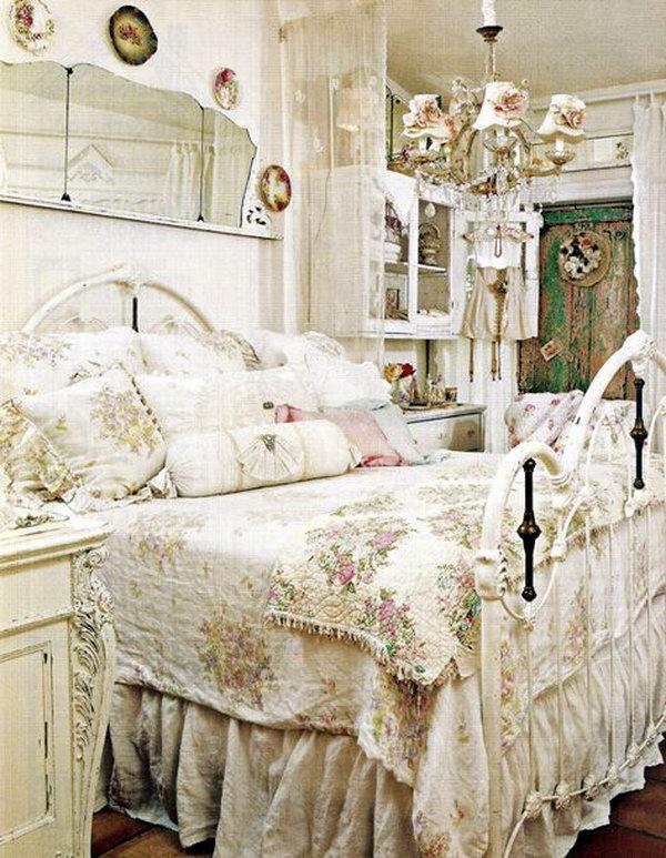 Shabby Chic Bedroom Decor.
