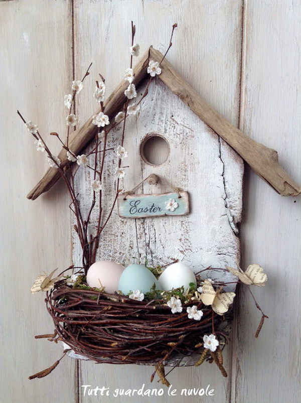 Easter Bird House Tutorial.