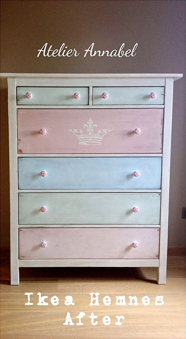 Awesome Ikea Dresser Makeover.