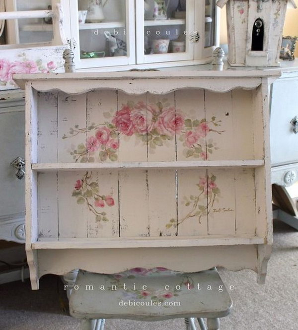 55 awesome shabby chic decor diy ideas projects 2017 for Shabby chic frames diy