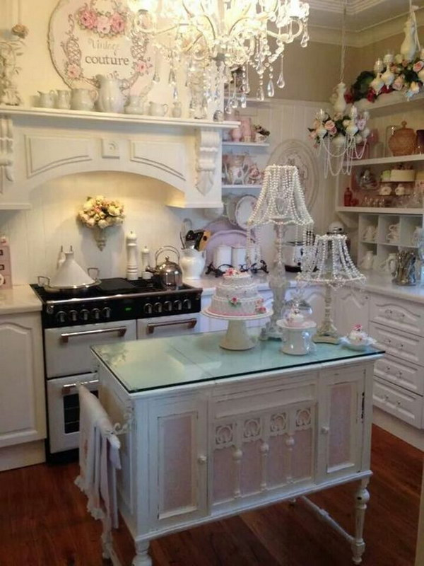 French Country Shabby Chic Paint Colors For Kitchen
