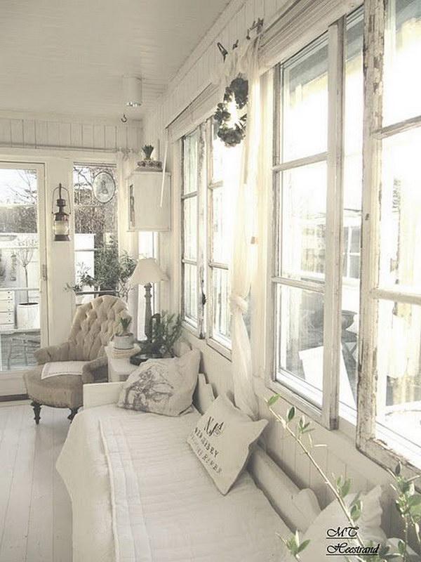 Shabby Chic Living Room Decor Idea