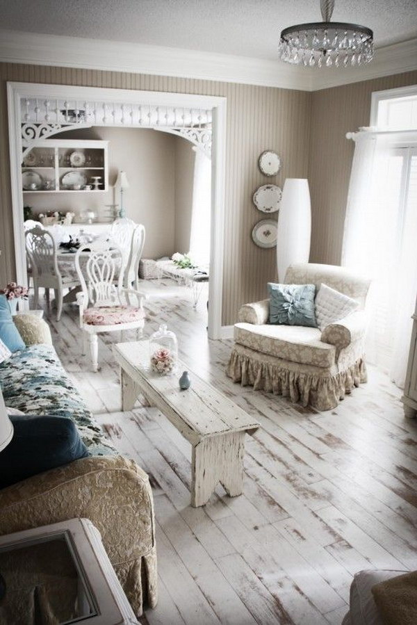 White Wash Wood Floors