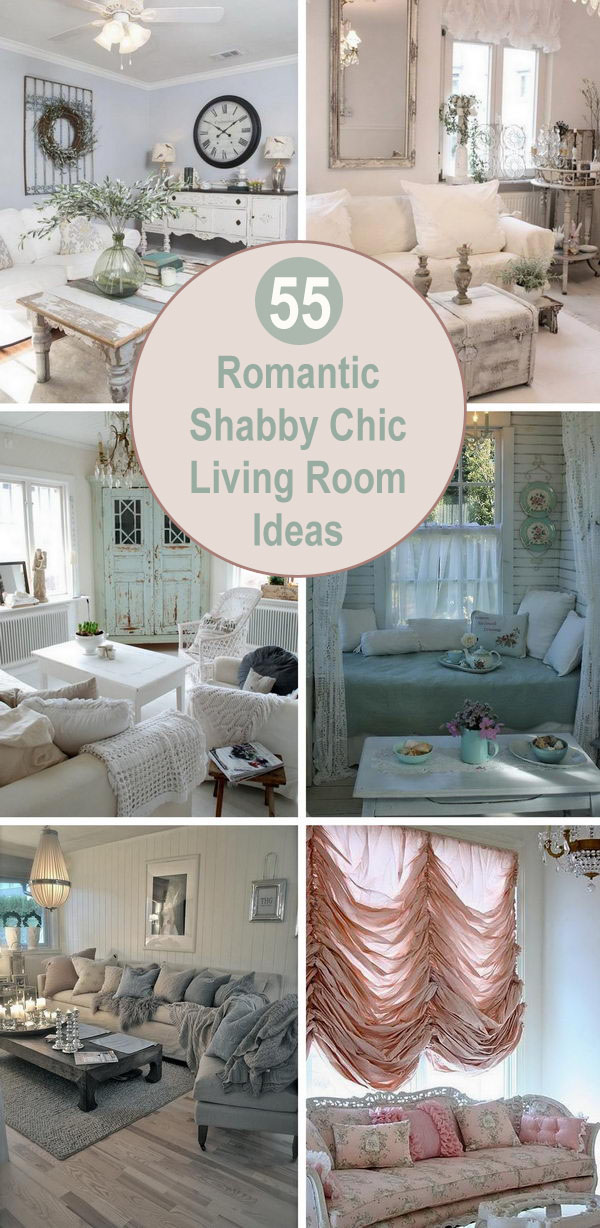 Romantic Shabby Chic Living Room Ideas.