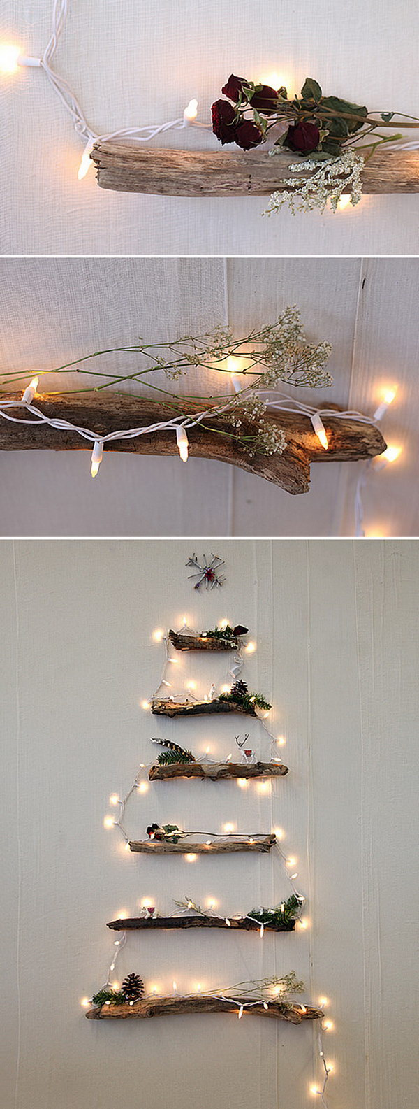 DIY Alternative Christmas Tree.