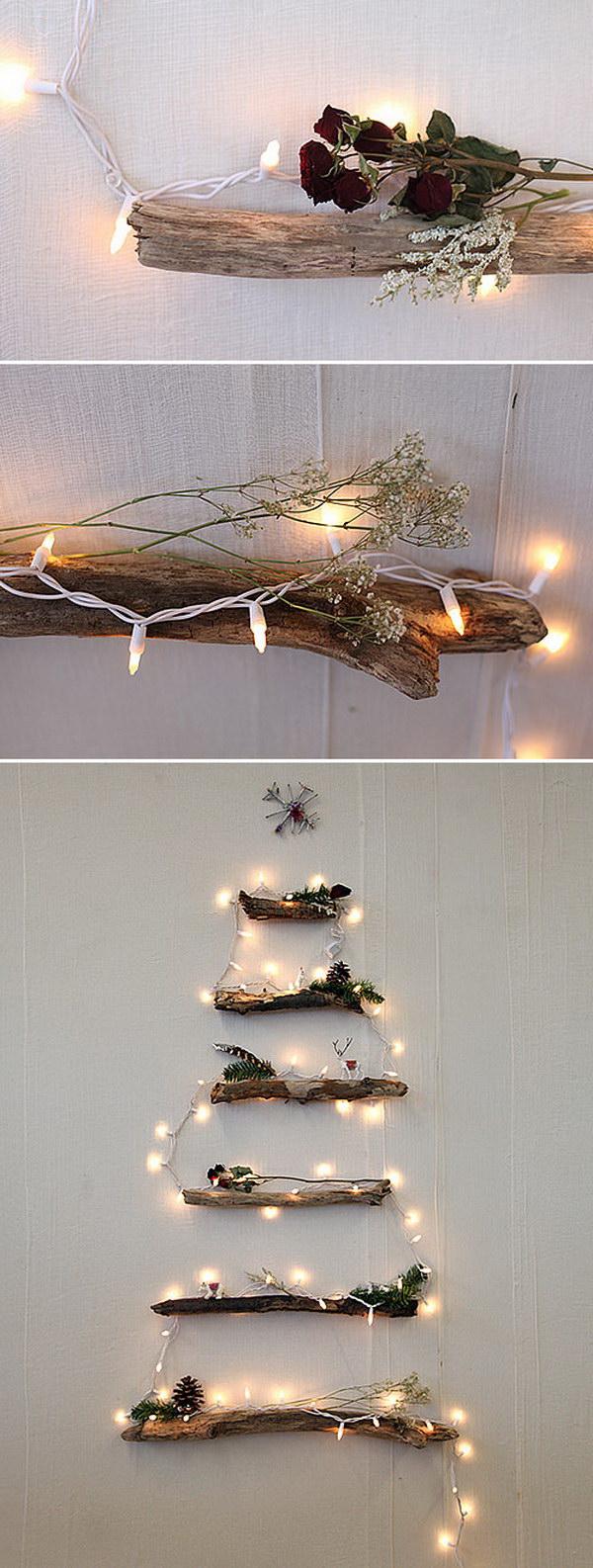 DIY Alternative Christmas Tree.