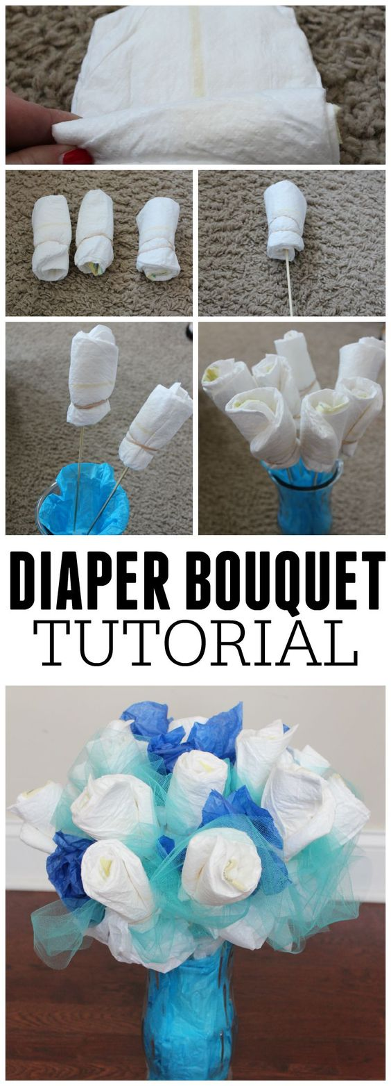 Diaper Bouquet.