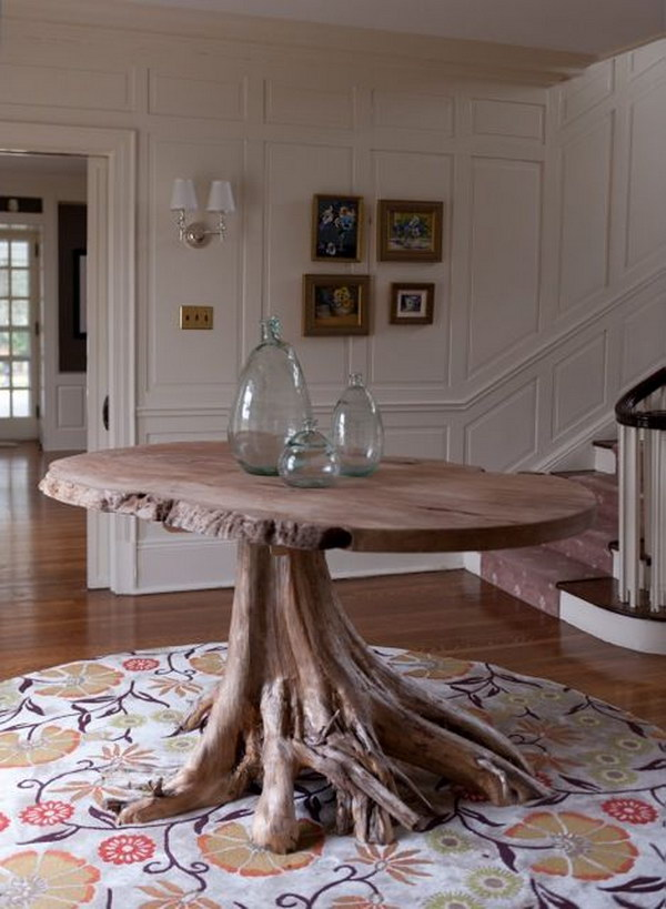 Groundwork Root Base Centerhall Table.