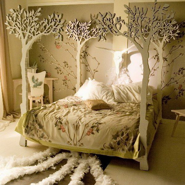 The Most Beautiful Tree Bed.