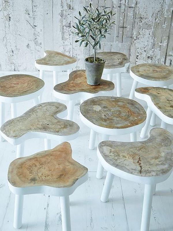 Small Tree Tables.