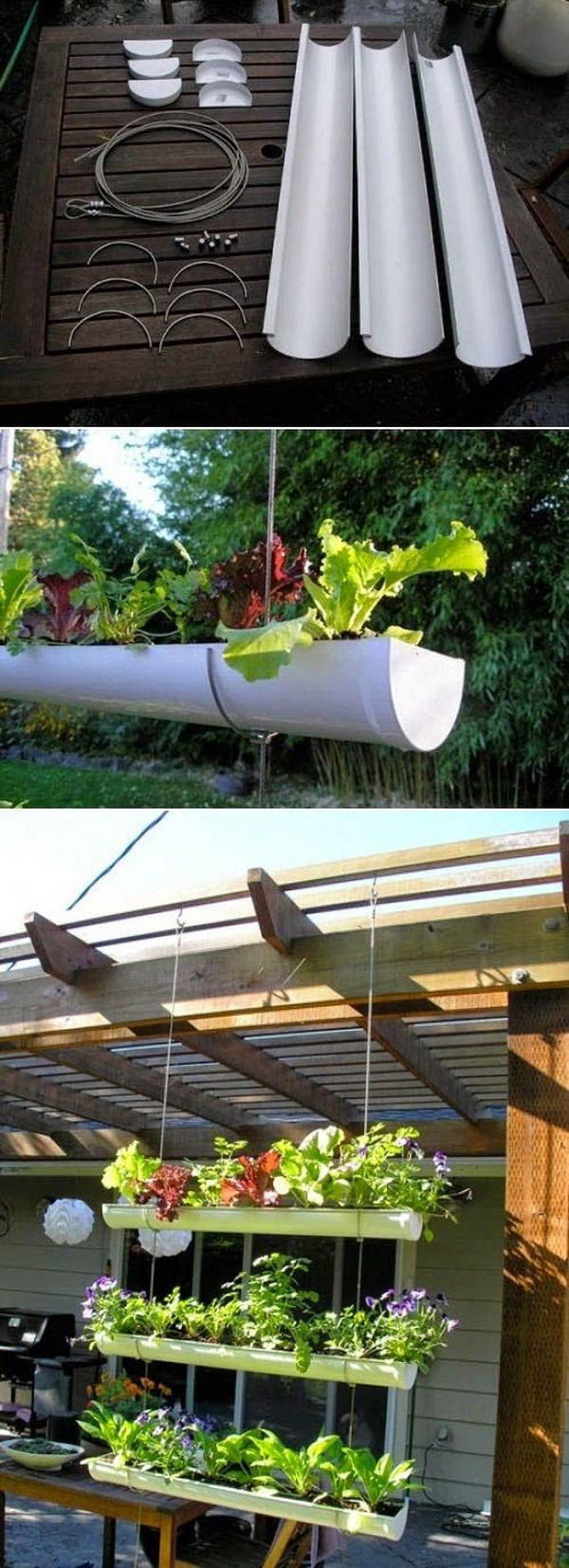 DIY Outdoor Vertical Garden Using Pvc Pipe