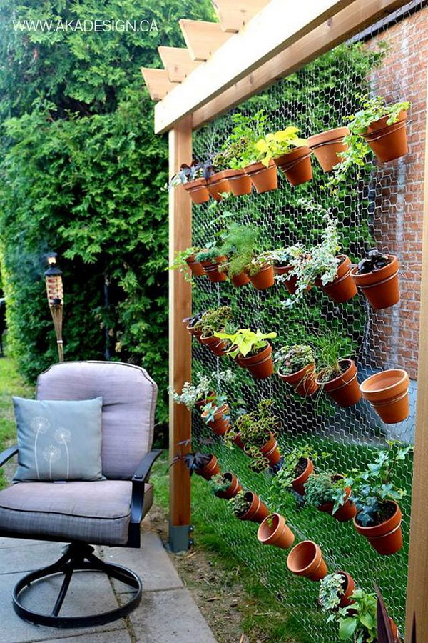 DIY Vertical Garden Wall
