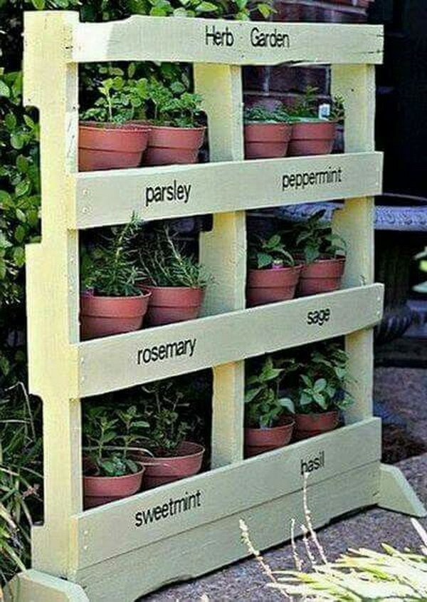 DIY Pallet Vertical Garden Tutorial