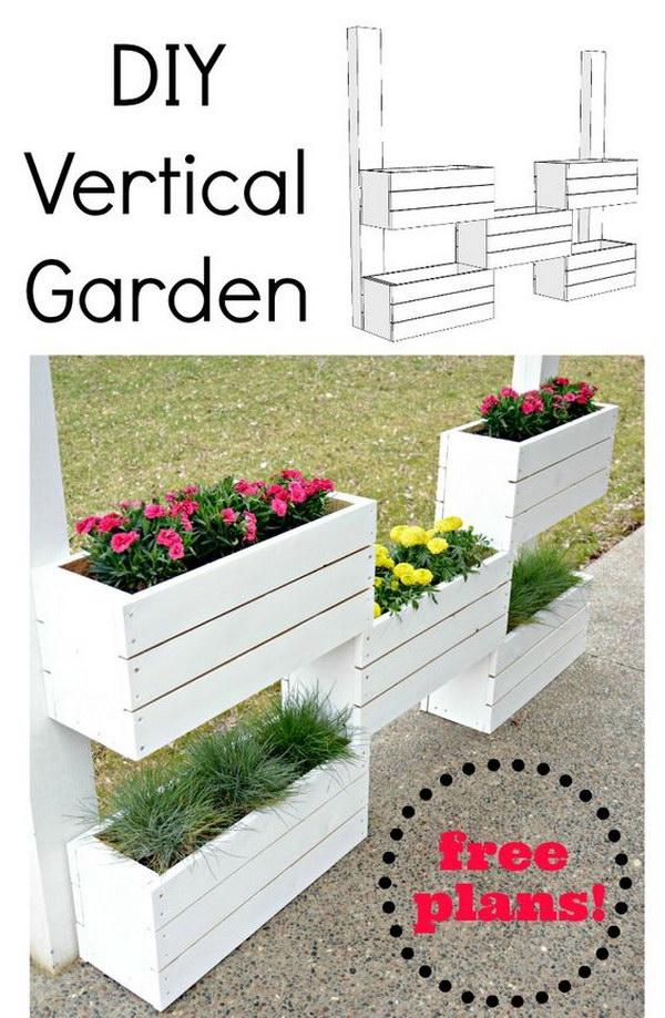 35 Awesome Vertical Garden Ideas 2018