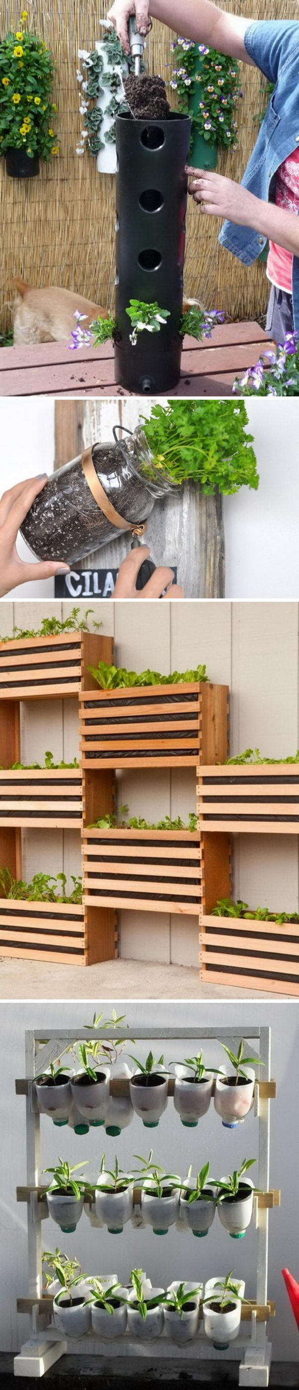 Awesome Vertical Garden Ideas.