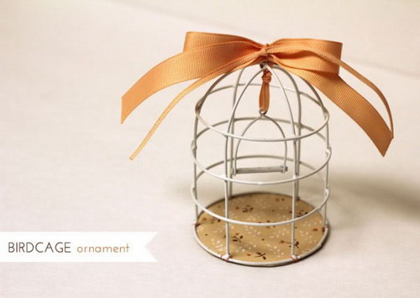 Decorative Birdcage.