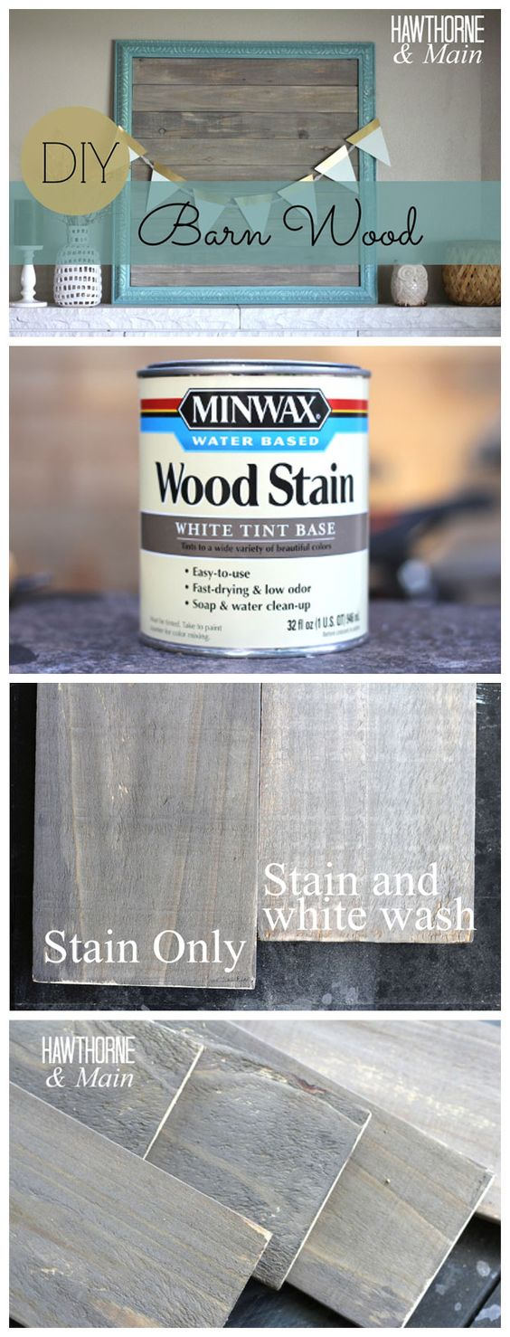 DIY Barn Wood Picture Frame.
